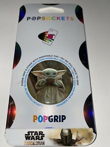 PopSockets Star Wars Mandalorian Baby Yoda W/Cup