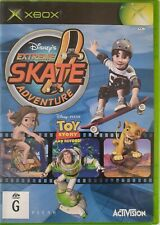 New listing Disney's Extreme Skate Adventure ~ Microsoft Xbox game & manual ~ FREE postage!!