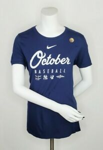 Nike New York Yankees October Baseball Womens T Shirt Size M
