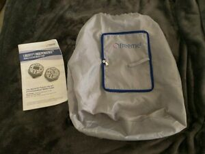 Freemie Independence Mobile Double Breast Pump & Breastmilk Collection Cups Bag