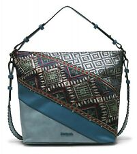 Desigual Almira Exotic Olesa Shoulder Bag Denim