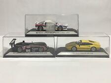 Starter Lot (3) Cars 1/43 Ferrari GTB, Lancia Monte Carlo, & Panoz LMP Spyder