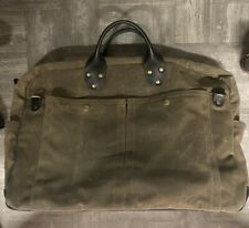 $389 Authentic Winter Session Waxed Tote Weekend Duffle Bag