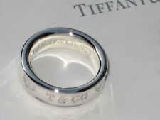 Tiffany & Co Argento Sterling 1837 Fedina
