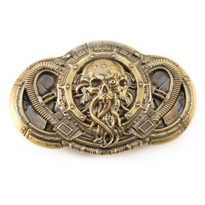 """Belt buckle """"Alien"""", Steampunk buckle, Skull belt buckle"""