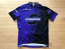 Studebaker Men's Sz XL Racing Jersey Cars Shirt Vintage Tour De France