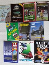 FA CUP FINAL PROGRAMMES 1981 TO 1988 ~ YOU CHOOSE YEAR ~ VERY GOOD CONDITION