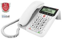 Bt 83154 Decor 2600 Telephone With Nuisance Call Blocker And Answer Machine Hac