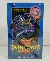 Marvel OverPower Card Game Booster Packs Factory Sealed Box, 36 Booster Packs