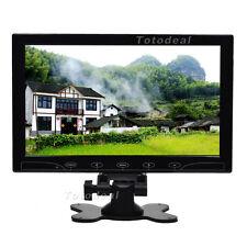 """10"""" Ultrathin HD Color CCTV Monitor Screen Touch Button HDMI + Speaker DE STOCK"""