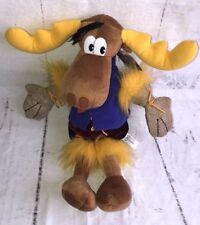 VTG 1999 Rocky & Bullwinkle Limited Edition Bullwinkle J Moose Plush w/ Tags