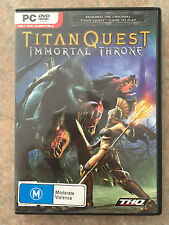 Titan Quest Immortal throne expansion Pc Game