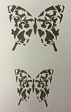 Butterly Detailed Mylar Reusable Stencil Airbrush Painting Art Craft DIY home