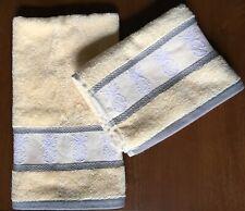 Tommy Bahama Hand Towel Set of 2 Towels Pineapple Tropics Yellow/Gold