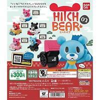 BANDAI HITCH BEAR 02 Gashapon 5 set mini figure capsule toys Japan