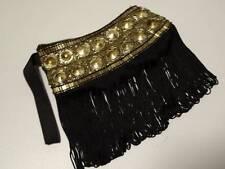 SASS & BIDE   Embellished Fringed   Wristlet Clutch Bag Purse