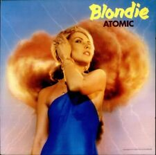 Blondie Deborah Harry Atomic Die Young  VINYL 45RPM PICTURE SLEEVE