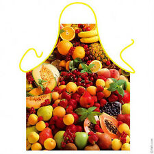 Colorful Fruit kitchen apron unisex one size cooking apron 100% Polyester ITATI