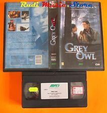 film VHS GREY OWL Pierce Brosnan 1999 Medusa Film    (F2**) no dvd