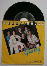 """7"""" Barrelhouse Guilty Holland Munich records Nm Ps 1985"""