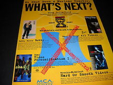 Wreckx-N-Effect Bobby Brown Shai Mary J. Blige 1993 Promo Display Ad mint cond