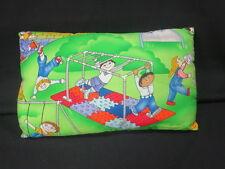 CHILDREN PLAYING PLAYGROUND SLIDE FUN TIME PILLOW MONKEY BARS PLUSH STUFFED