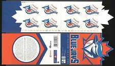 Canada 2001 BIRD/Baseball/SPORT 8 V S/A Bklt (n15750)