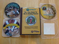 TURKEY HUNTING AND INSTRUCTIONAL 4 DVD SET BOWHUNTING