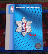 Official NBA Christmas Snowflake Collectible Patch