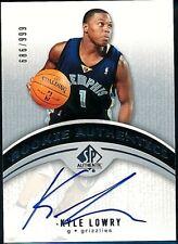 2006-07 UD SP Authentic Kyle Lowry RC Rookie 686/999 Autograph NBA Raptors #114