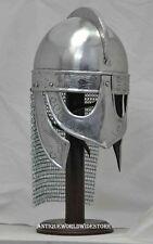 Medieval Chainmail Viking Valas Guards Armour Helmet
