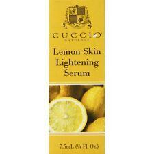 Cuccio Lemon Skin Lightening Serum 7.5 ml