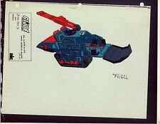 "G.I. GI Joe Hiss II (Side) Model Cel ""PHOTO"" 80-90's Cartoon 1990 Dic Animation"