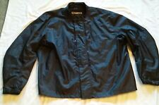 Yamaha Black Nylon Riding Jacket Coat Zip In Lining (?)  Mens Sz 3XL XXXL