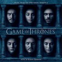 GAME OF THRONES Season 6 CD BRAND NEW Ramin Djawadi Soundtrack
