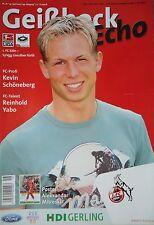 Programm 2006/07 1. FC Köln - Greuther Fürth