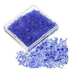 2pcs Blue Indicating Silica Gel Desiccant Moisture For Absorb Box Reusable L4D9