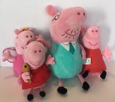 Nickelodeon Peppa Pig Plush Lot Daddy Pig