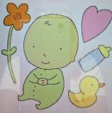 Cuttlebug Baby Die - Baby - Flower - Heart -Bottle - Duck New Sealed Provo Craft