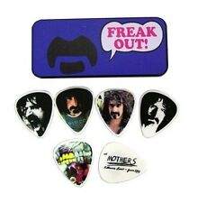 Dunlop Guitar Picks  Frank Zappa Collectible Tin  Blue Freak Out  Medium