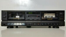 Nice Auto Reverse Double Cassette Deck Player Recorder Copier Optimus SCT-37