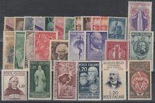FRANCOBOLLI - 1945/50 REPUBBLICA LOTTO MNH Z/7629