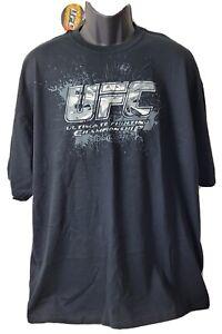 UFC Ultimate Fighting Championship Graphic T-Shirt 2XL Black Bud Light NWT 2008