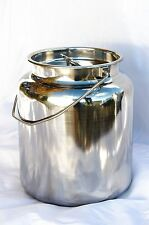 15 qt stainless steel milk can