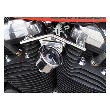 Velona Tacho Halter f. 60mm Instrumente, Edelstahl, f. Harley-Davidson Sportster