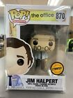Funko POP! Television: The Office JIM HALPERT Chase Figure #870 w/ Protector