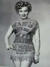Marilyn Monroe Wearing U S No. 1 Twin Falls Idaho Potatoes Sack Rare Image MINT!