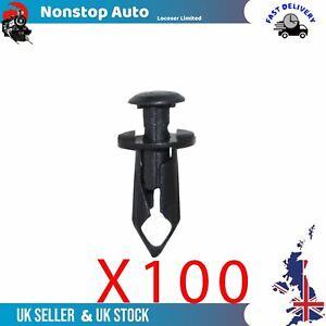 100X Spingere Tipo Fermo Orlo Fissaggio Clip Per Nissan Buick Cadillac 11561878