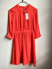 Banana Republic Dress Red NEW With Tags, Size 0 Petite, UK 6 Petite