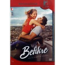 Befikre (Hindi DVD) (2016) (English Subtitles) (Brand New Original DVD)